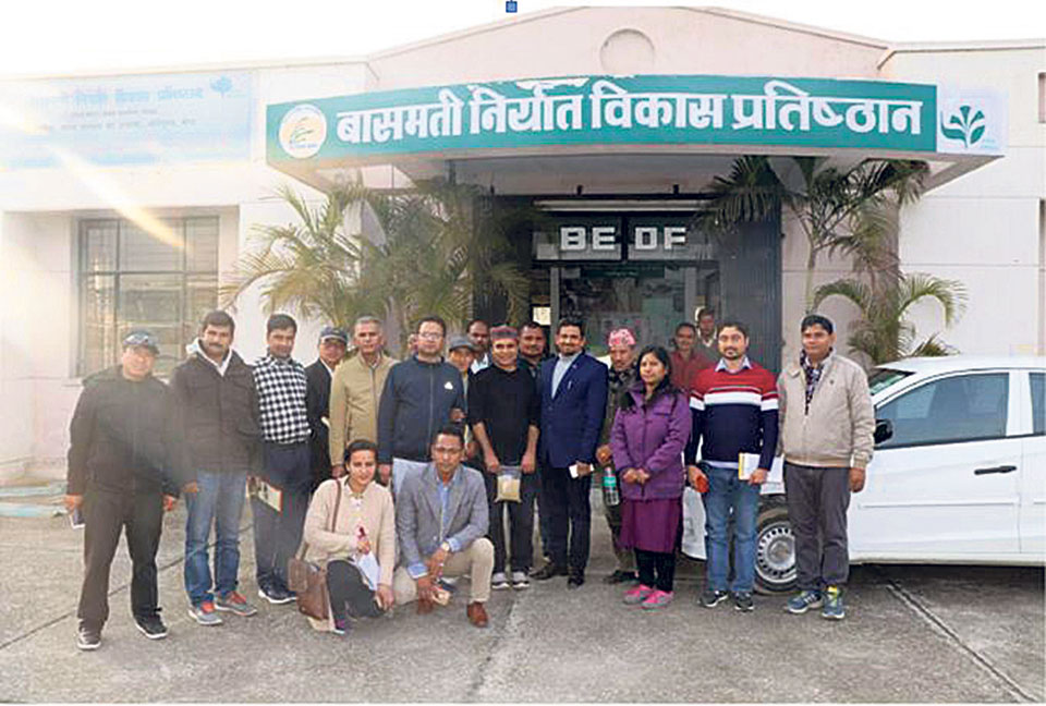 Farmers, agro experts receiving organic farming training in India