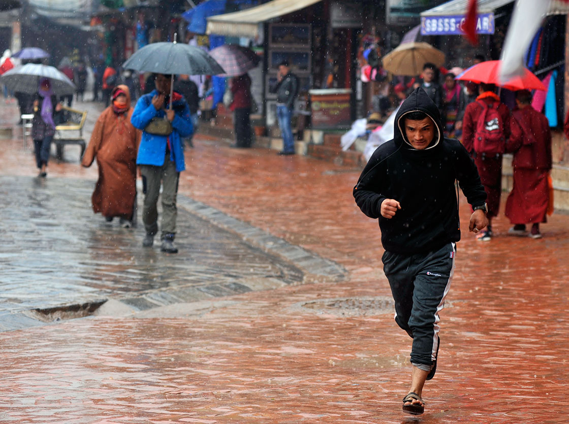 Western winds reinvite rainfall, snowfall for another three days