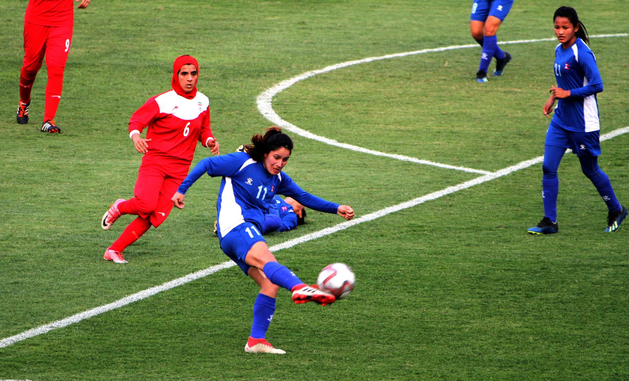 Nepal secures 3-0 win against Iran