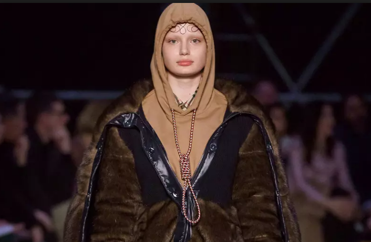 Burberry apologizes for 'noose' hoodie outfit, removes dress after backlash