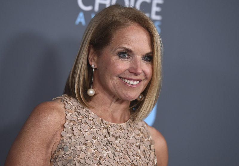 Katie Couric writing memoir, expected for 2021