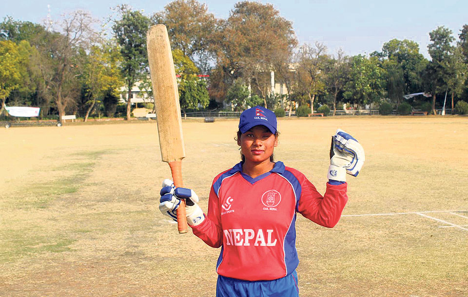 Chaudhary registers first-ever half-century in women's blind cricket