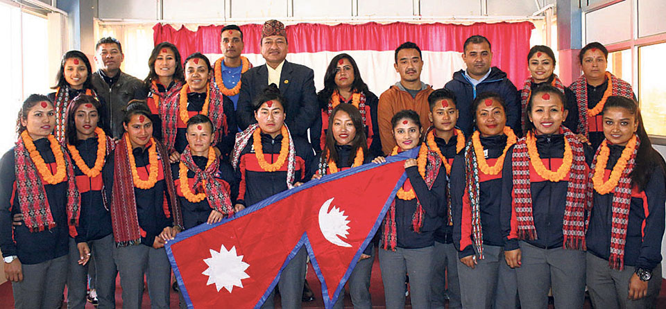 Nepal nat'l women's cricket team off to Thailand