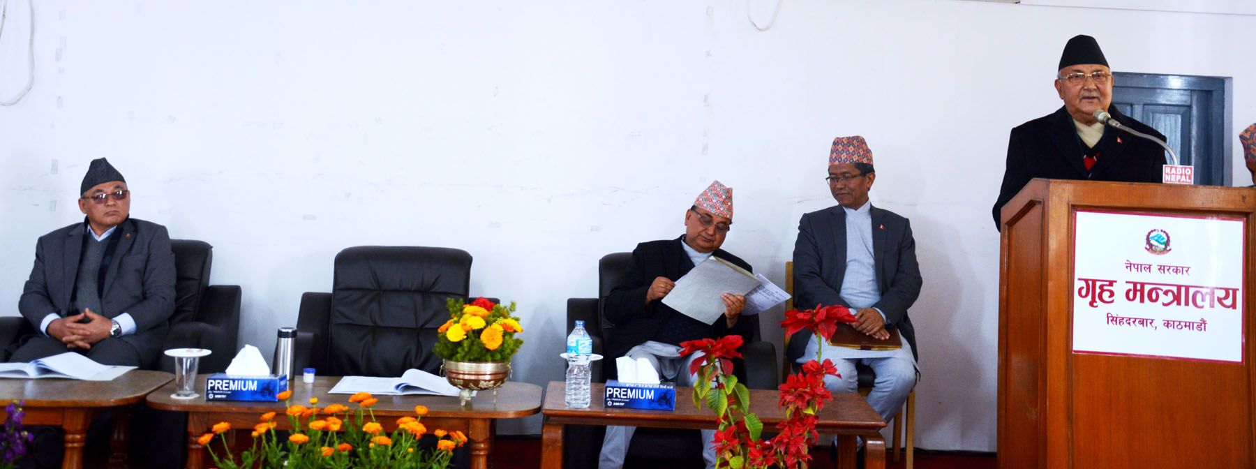PM Oli urges govt officials to utilize their rights to execute their duties responsibly