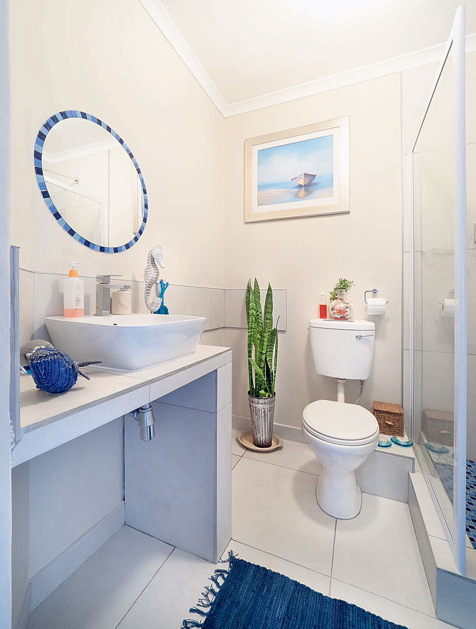 Glam up your bathroom