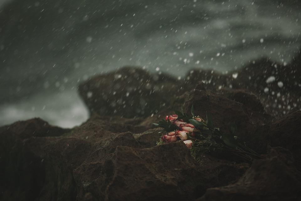 Raining with heartbroken endings