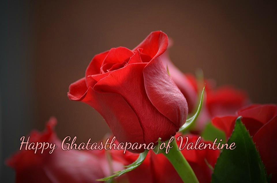 Rose Day: Ghatasthapana of Valentine