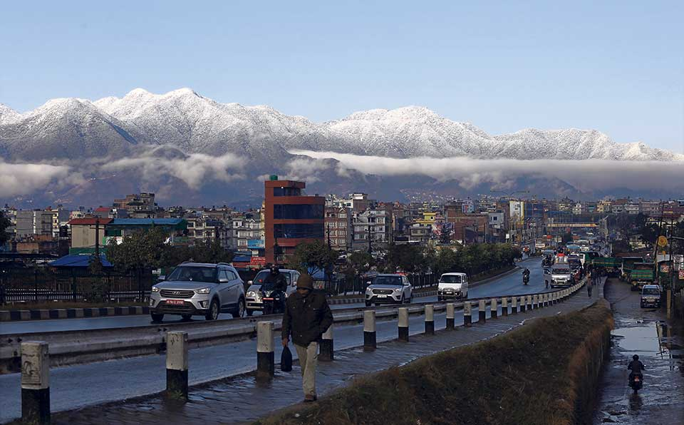 Winter rain stops but hills partly cloudy till Saturday