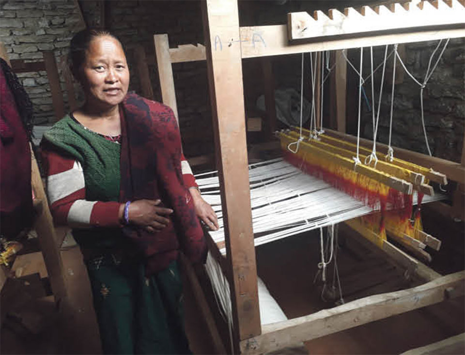 Allo, a low-cost high-income venture for Parbat women