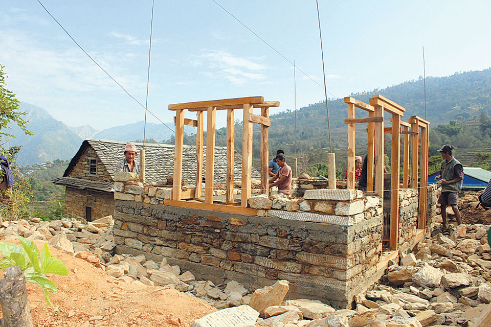Post-quake reconstruction to be completed in 2 years: NRA chief