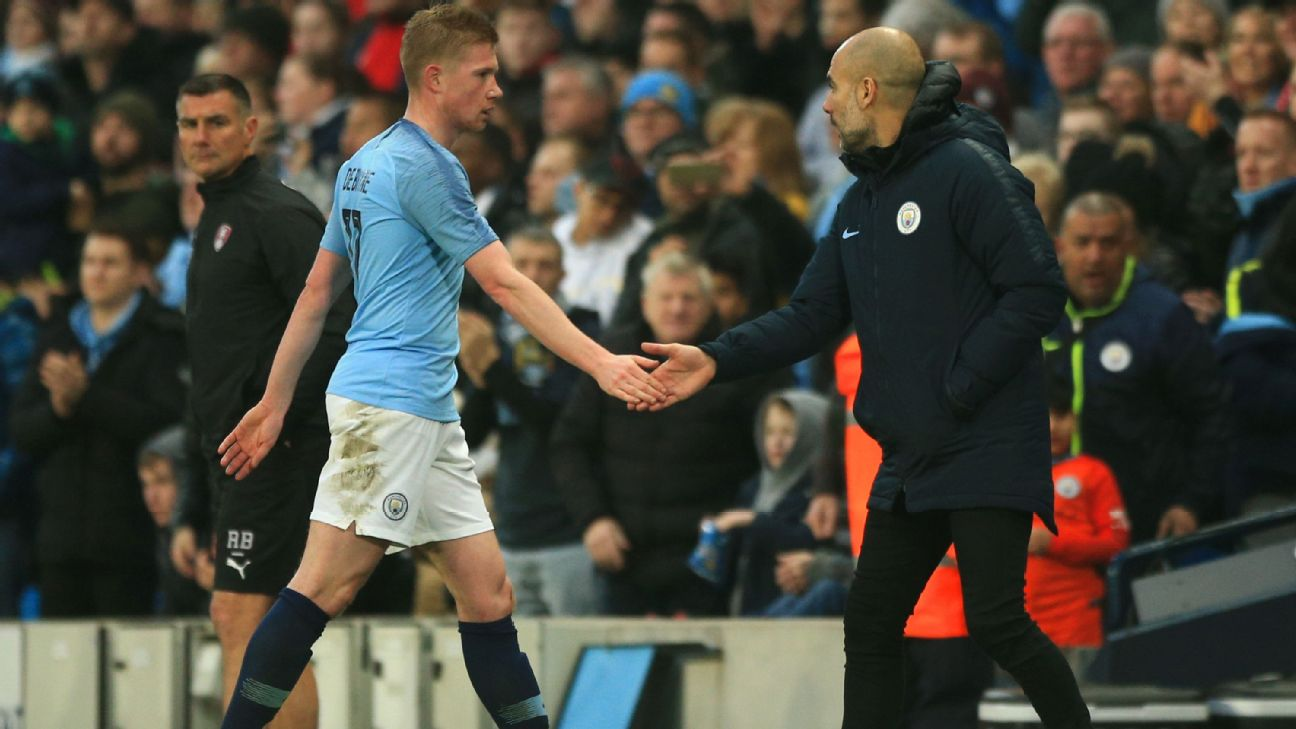 City counting on fit-again De Bruyne to boost title defence