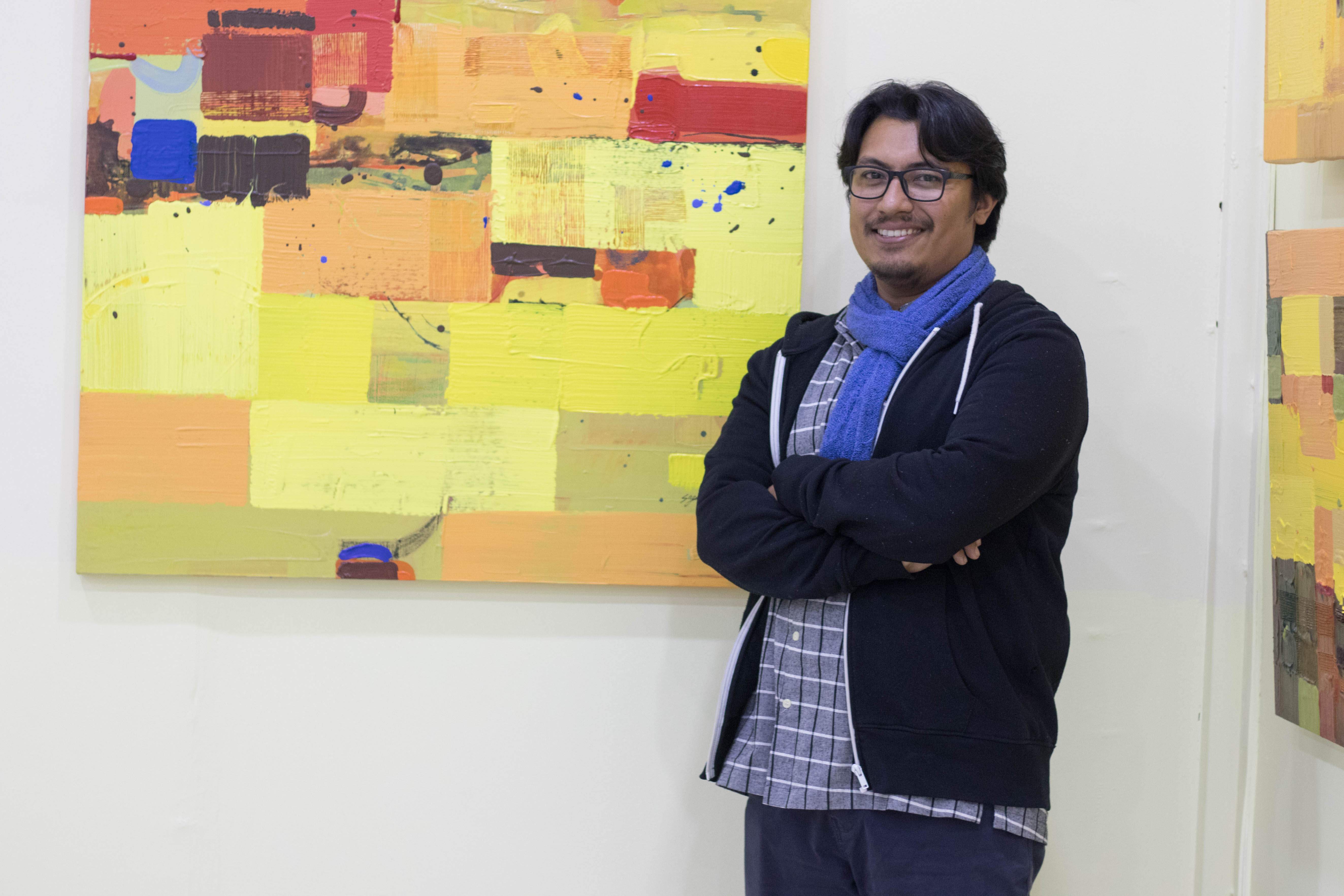 14th solo exhibition of Sagar Manandhar at Ageno: The Hestia