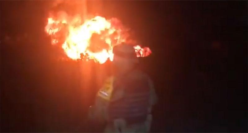 Horrifying fireball at ruptured Mexico oil pipeline kills 21