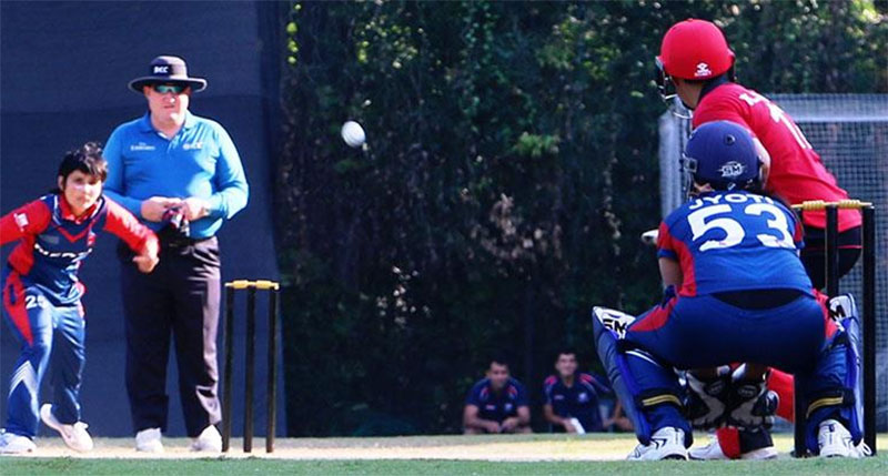 Nepal's thumping start at Women T20 Smash Cricket Tournament