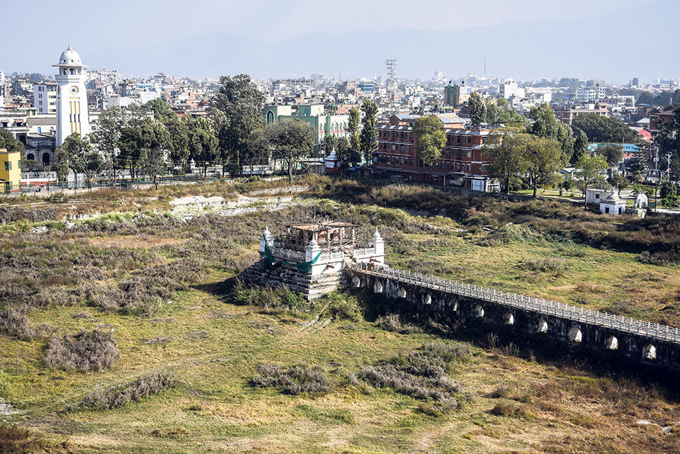 Rani Pokhari reconstruction fails to restart even after a year
