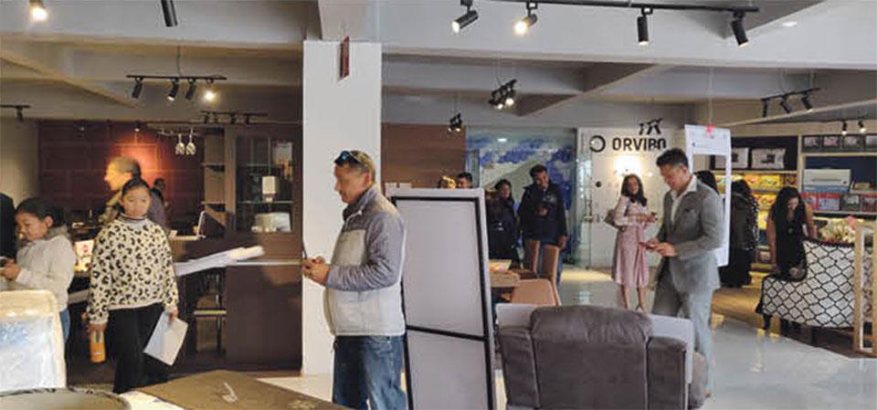 SB Furniture opens its new showroom