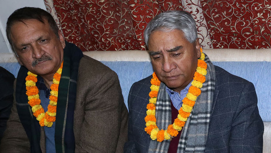 NC President Deuba refutes involvement in wide body procurement process