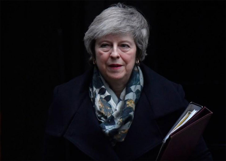 May warns of catastrophe if lawmakers don't back Brexit deal