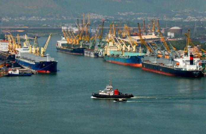 ECTS of goods in Vishakhanpatnam Port successful