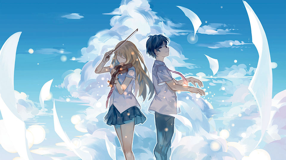Musically magical anime