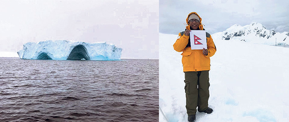 A surreal experience during Antarctica visit