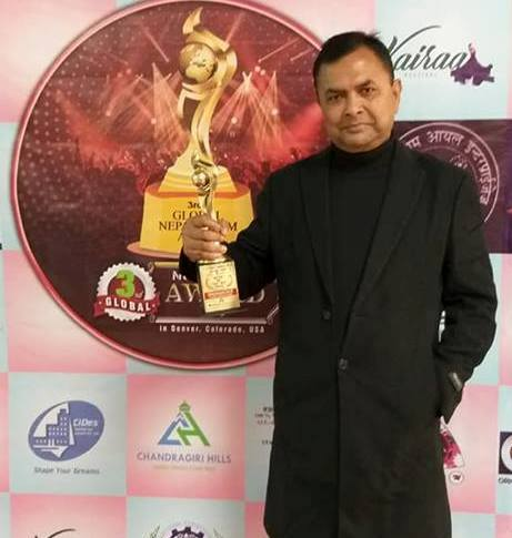 Nepali actors felicitated in Colorado