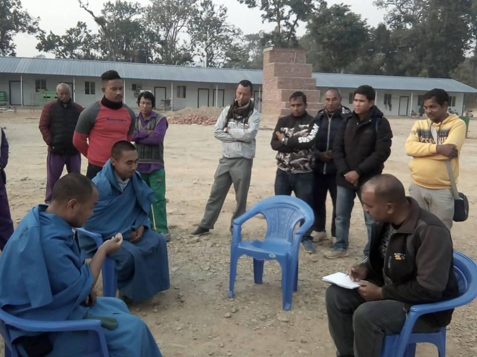 Police arrest two from Bomjom's aashram at Sindhuli