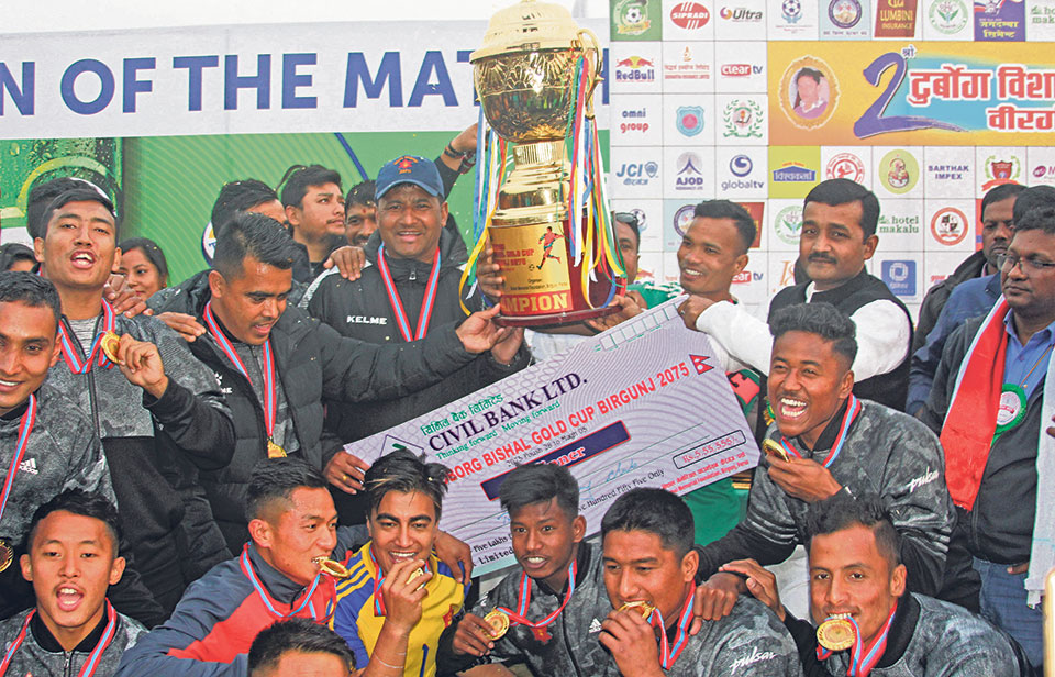 Army retains Bishal Gold Cup after sudden-death win