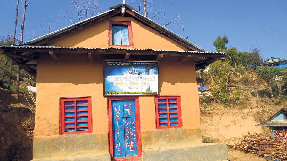 Prabhu replacing jhankri among folks in Rolpa village