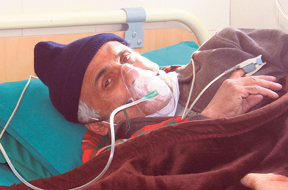 Dr Govinda KC airlifted to Kathmandu amid deteriorating health condition