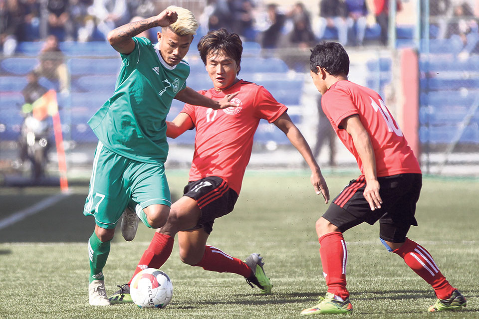 NRT, Machhindra held in 10-goal thriller; Army plays goalless draw with Jawalakhel