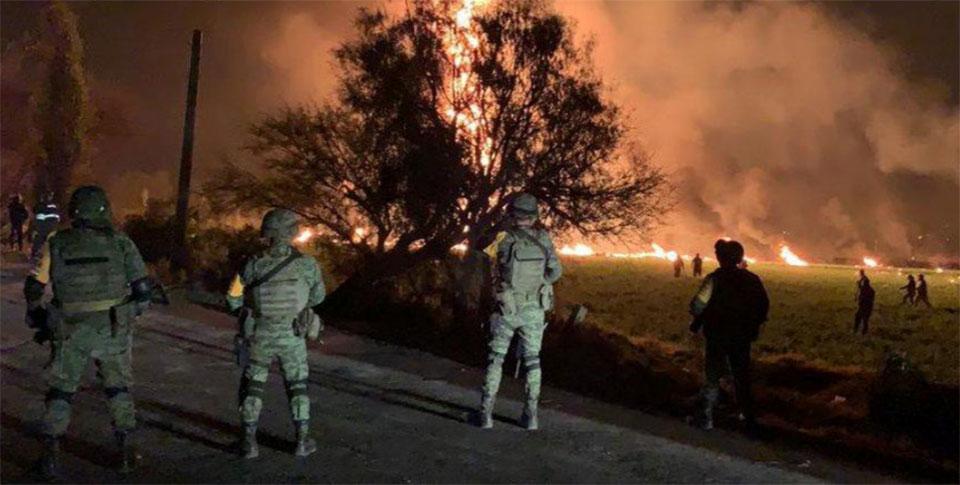 Mexico fuel pipeline blast kills 73, witnesses describe horror