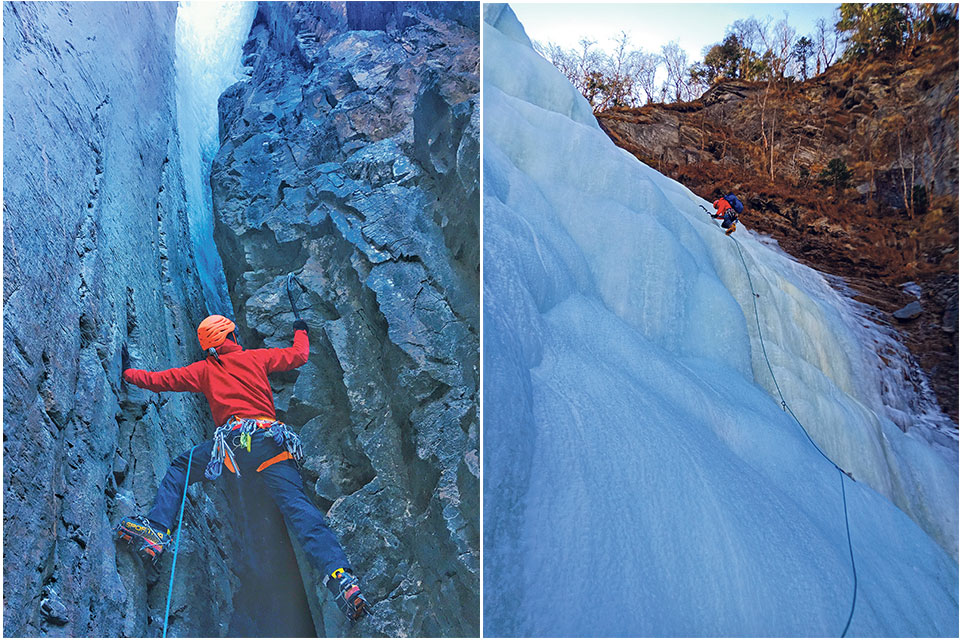 Country's first ice climbing festival to begin Feb 2 in Manang