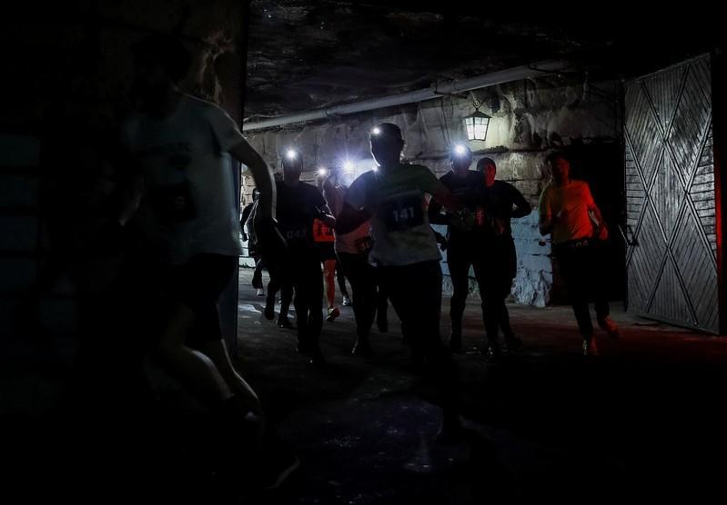 Moldova hosts 10 km race in world's largest wine cellar