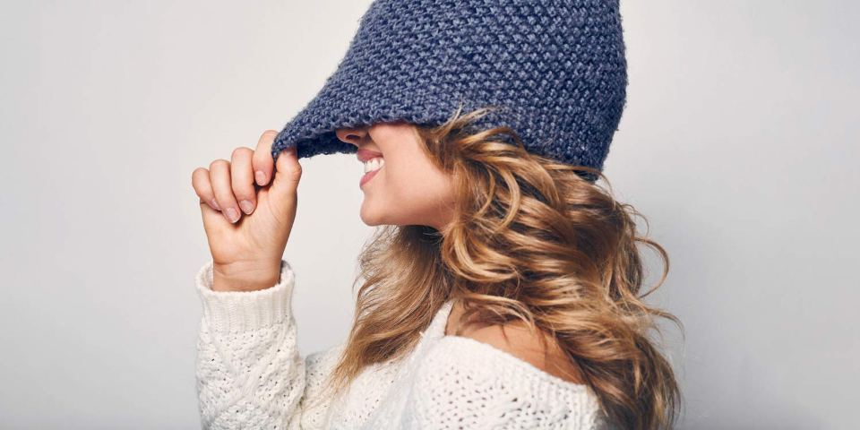 Five tips for healthy winter hair