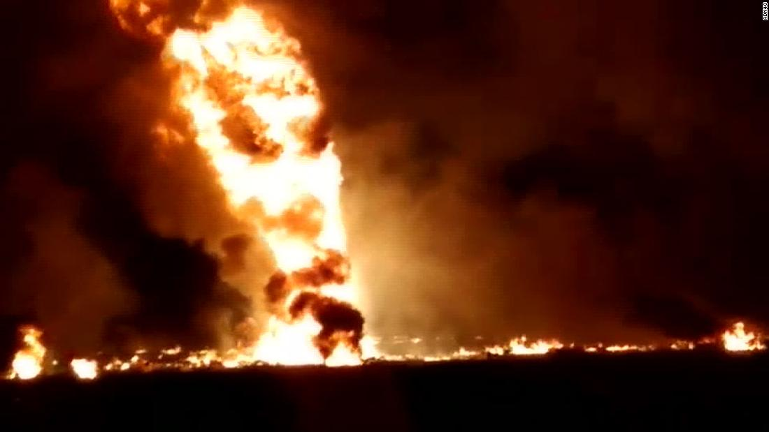 UPDATE: Death toll reaches 85 in Mexico fuel pipeline fire horror