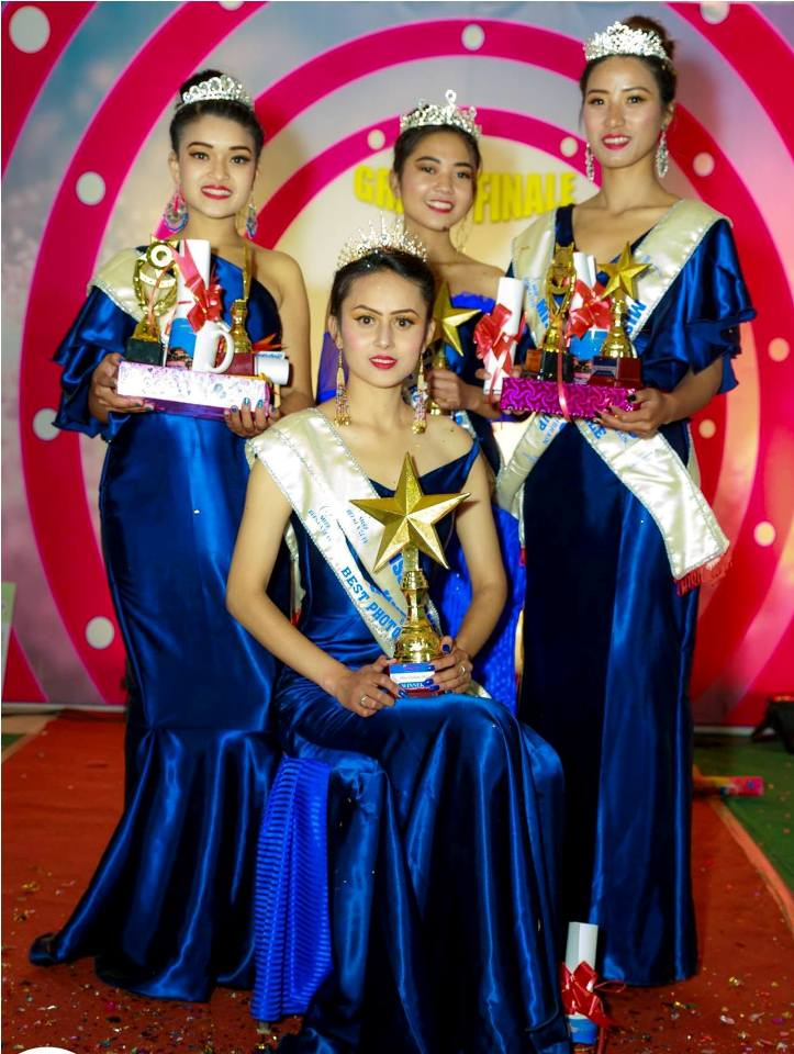 Neha Shrestha wins the title of Miss Gorkha