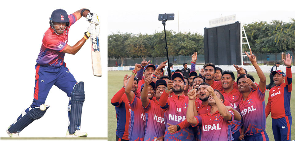 Khadka's maiden ODI ton inspires Nepal to first bilateral series win