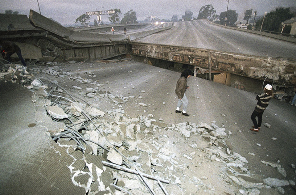 Northridge quake thrashed Los Angeles 25 years ago this week