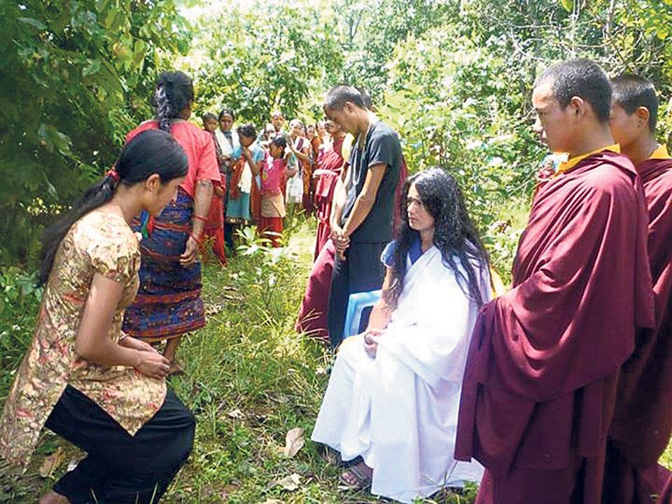 CIB raids 'Buddha Boy' ashram in Sindhupalchowk