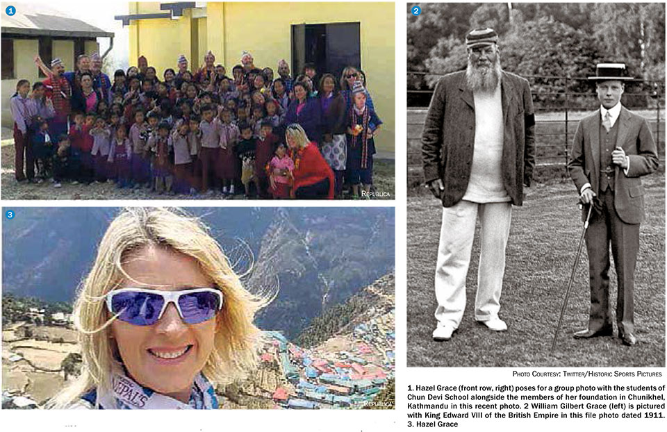 Legacy of Grace supporting children in Nepal
