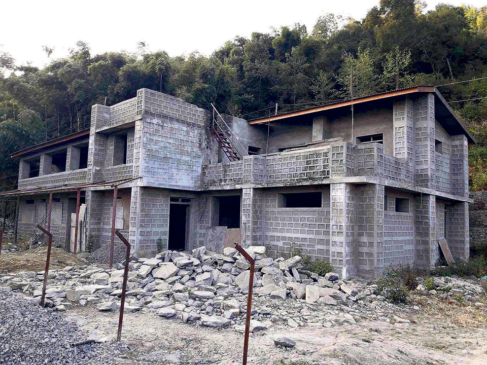 Delay in construction of health post building hits locals in Khotang village