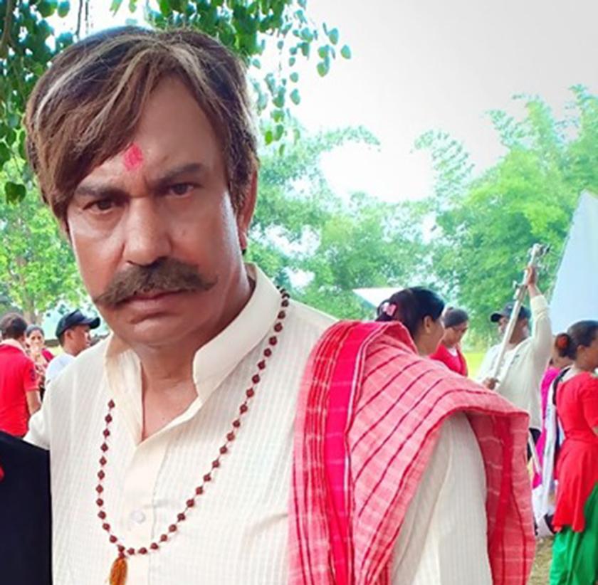 Bhuwan KC playing old man in 'Mister Babu'