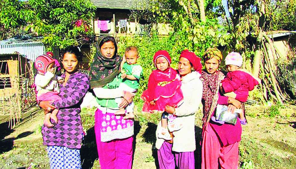 Prolapsed uterus among young mothers common in Rolpa