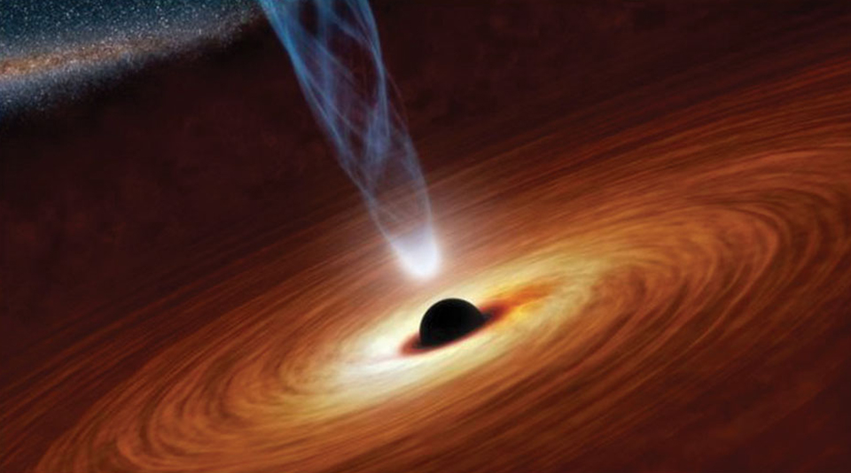 Astronomers see evidence of Einstein's theories in star orbiting massive black hole