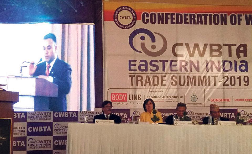 NCC representatives in Eastern India Trade Summit