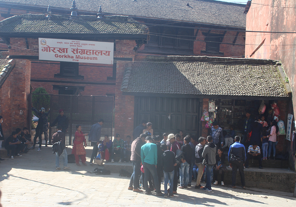 Visitors at Gorkha Museum on the rise