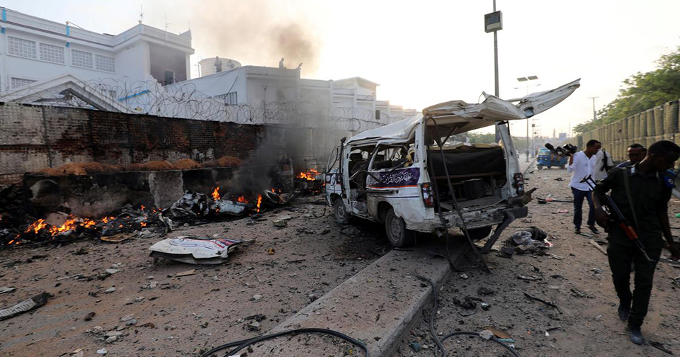 Death toll in hotel attack in Somalia's Kismayo jumps to 26 - regional president
