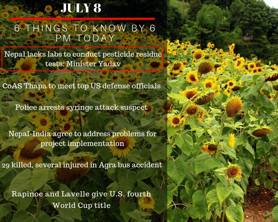 July 8: 6 things to know by 6 pm today