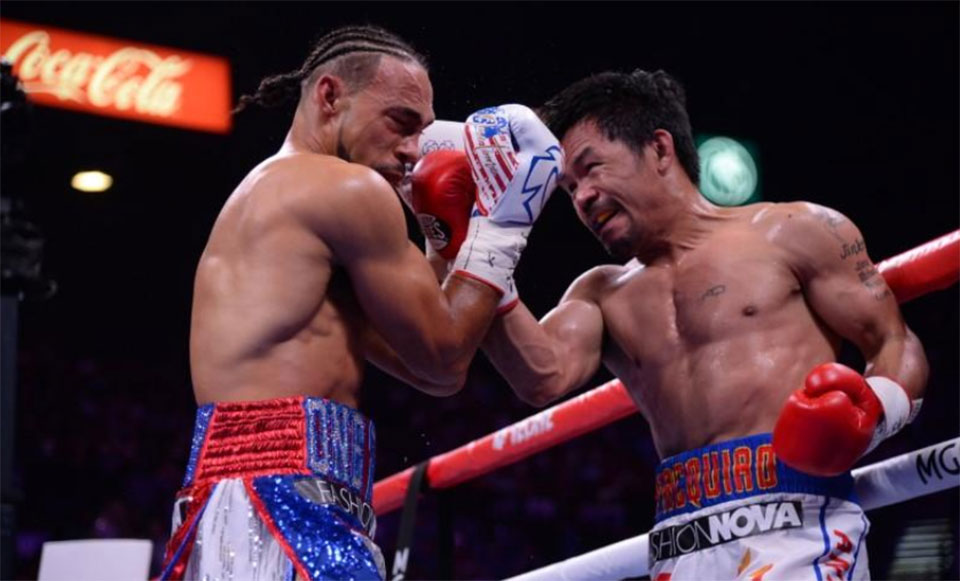 Pacquiao beats Thurman on split decision